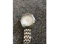 Burnley motif watch mens