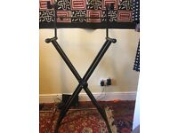 Keyboard stand double