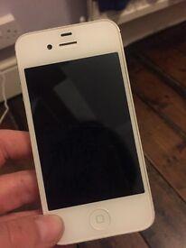 White Unlocked IPhone 4S