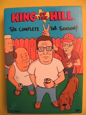 KING OF THE HILL The Complete Second Season DVD Box Set Mike Judge Fox TV 2 Two for sale  Woodland Hills