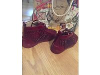 Men's Christian Louboutin Louis Orlato Patent Spikes High Tops Size 41 UK 7 8 9 10 11 All Sizes