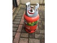 Light weight gas bottle