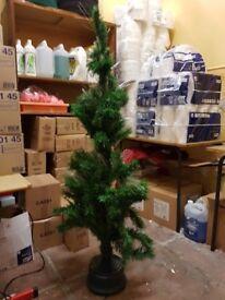 5ft tesco fibre optic christmas tree