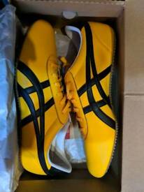 Onitsuka Tiger Mexico 66 Yellow and Black, size 10, £40 or nco