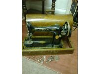 Antique Singer sewing machine in original case Peterborough £85