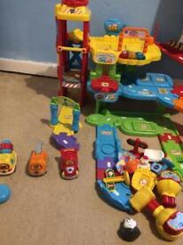 VT garage and car