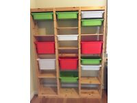 Ikea Trofast storage units - three units available which can be fixed together or used separately