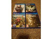 Ps4 game bundle 4 games