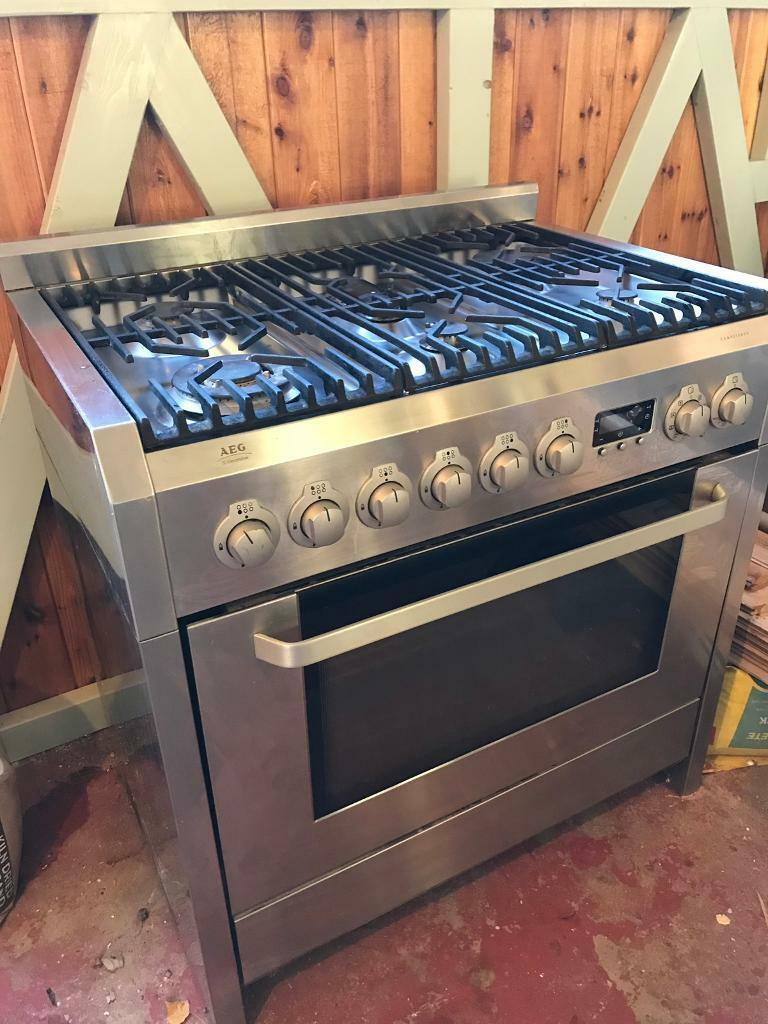 Aeg Electrolux 90cm Range Cooker In Southsea Hampshire Gumtree