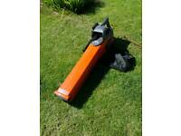 Flymo garden vac and blower