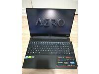 Gigabyte AERO 15.6 UHD 4k i7 8th gen RTX 2070 1TB SSD 32 GB RAM Laptop