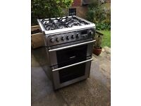 Cannon stand alone dual fuel Gas Hob / Electric Twin Oven