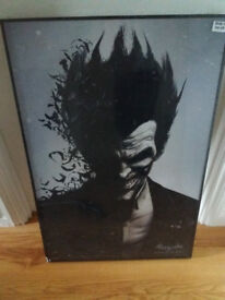 Large Joker Picture from Batman. sealed and brand new
