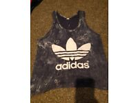 Adidas sports vest - kids - size 8-10yrs approx