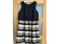 Ladies black and gold Monsoon Dress