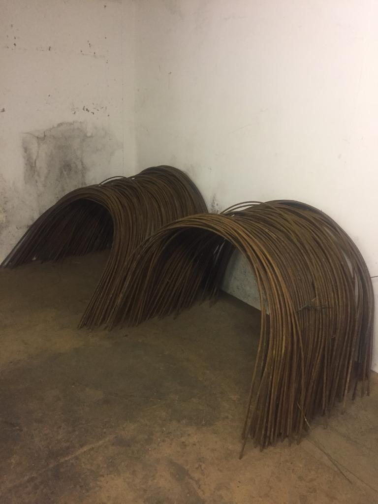380 Cloche and Tunnel/Crop Protection Metal Support Hoops (£2 each)