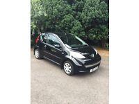 Peugeot 107 low miles, 2 keys, electric windows, spoiler sets off, lady owner, cheap