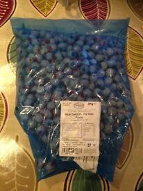 3kg bag chocolate eyeballs Halloween