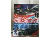 Willkommen- german for adult beginners