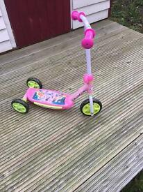 Mini mouse scooter.