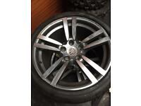 Porsche 911 Turbo gen 2 Alloy wheels with Bridgestone Porsche rated tyres