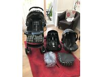 Graco pushchair/travel system. Excellent condition - 10 months old.