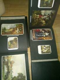 Vintage art massive post cards Books X3 £50. The lot