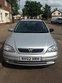 Vauxhall Astra 2002 petrol 1.6