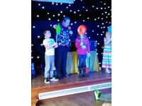 Children's fun & magic disco for parties.