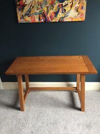 Comfortable wooden desk