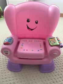 Fisher Price Laugh & Learn Smart Stages Chair - Pink
