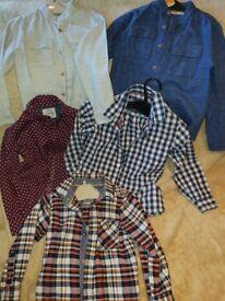 Boys clothing shirts bundle x 5 (4-5 yrs)
