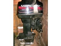 Mercury 60Hp Two Stroke oil injected outboard (NEEDS ATTENTION)