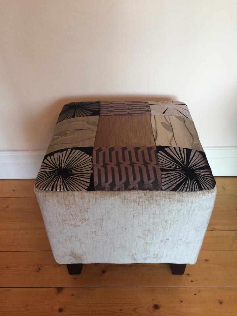 Bespoke designer Pouffe stool