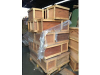 Decorative prop made wine crates and boxes 60cm x 40 x 35 £15 each
