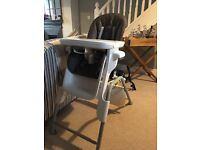 Oxo Tot Seedling high chair in Mocha