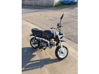 Motorcycle for sale new MOT monkeybike road legal pitbike monkey bike 125cc 50cc moped honda