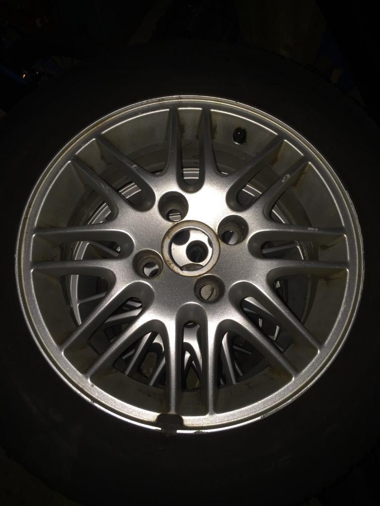 "Set of 4 15"" Ford Focus Alloy Wheels Fiesta Escort 4x108"