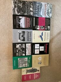 German Paratrooper / German Panzer division hardback books / Collectors
