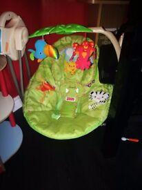 Baby rainforest swing