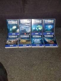 Titanic dvds