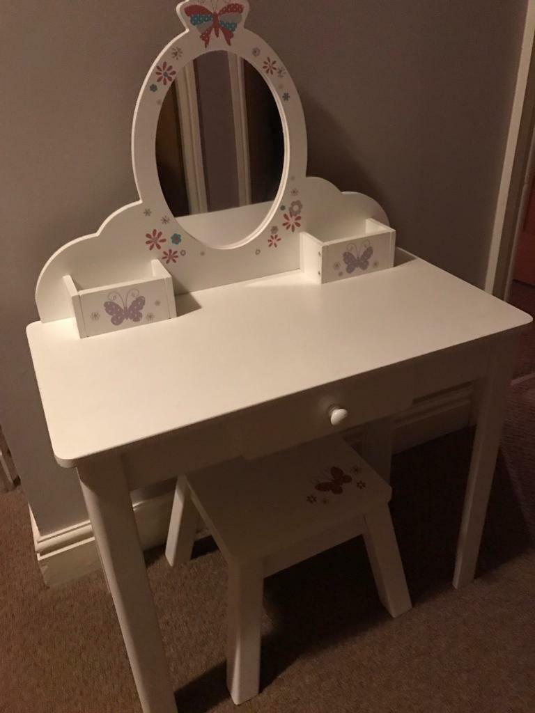 Girls Dressing Table ~ Elc wooden girls dressing table in goole east yorkshire