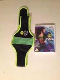 Zumba fitness Wii game