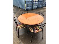 Pine table and 4 chairs with FREE DELIVERY PLYMOUTH AREA