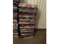 Over 100 DVDs. £60