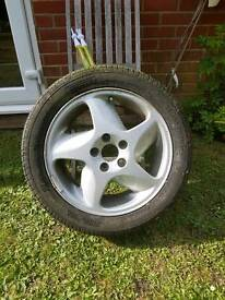Volvo t5 alloy wheel