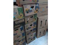 Banana boxes / removal boxes