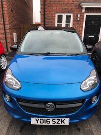 Vauxhall Adam Energised 16 plate, 1.2, 7500 miles, 1 female owner