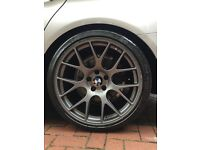 "Original 20"" BBS alloy wheels (Staggered) for BMW F10/11 .....9.5x20 & 10.5x20. Michelin Pilot Sport"