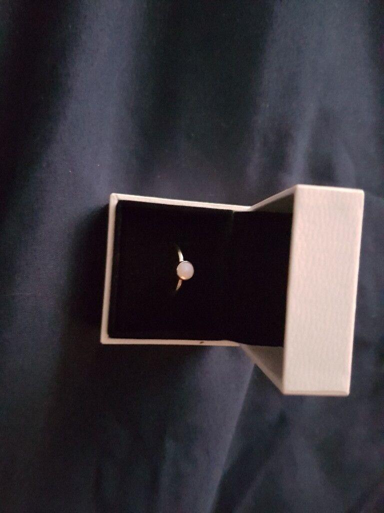 Pandora pink ring boxed